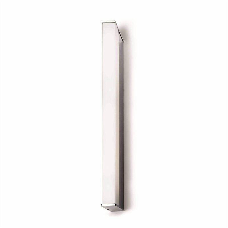 Image of 05-leds C4 - Wall lamp 14W Toilet Q, aluminum and acrylic, 58 cm
