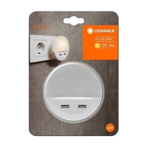 LEDVANCE DOORLED DOWN 4058075267848 APPLIQUE MURALE LED EXTÉRIEURE AVEC DÉTECTEUR DE MOUVEMENTS 0.5 W BLANC BLANC