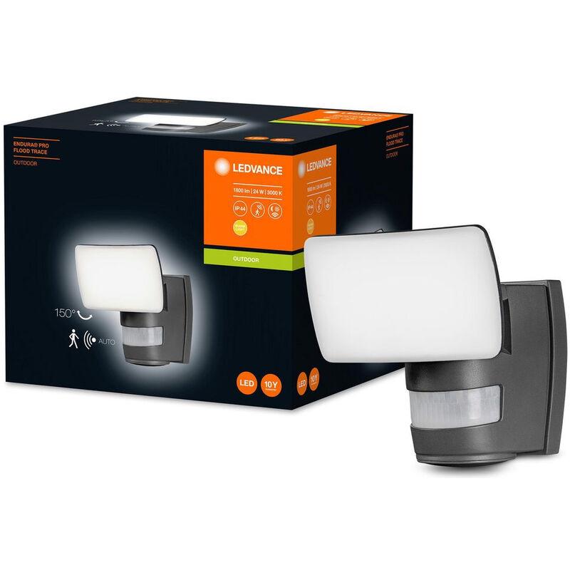 LED Wandleuchte Endura in Schwarz 24W 1800lm IP44