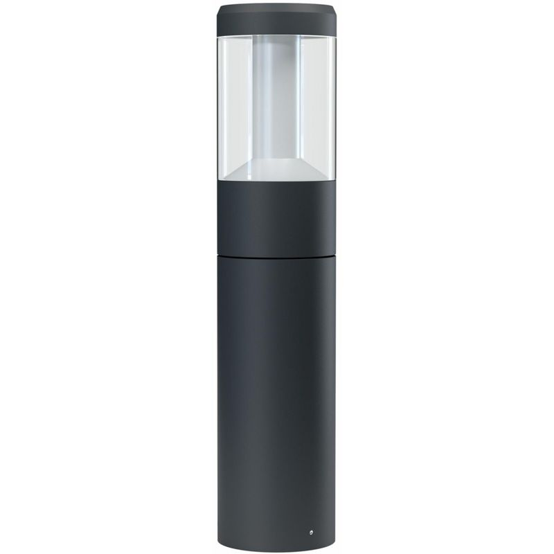 ENDURA STYLE LANTERN MODERN LED Sockelleuchte Warmweiß 50 cm Aluminium Dunkelgrau, 205031 - Ledvance