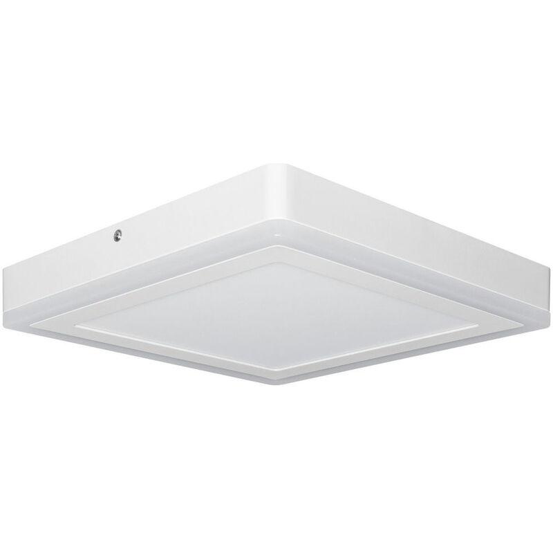 LED Wand- und Deckenleuchte 18W 1100lm 296x296mm
