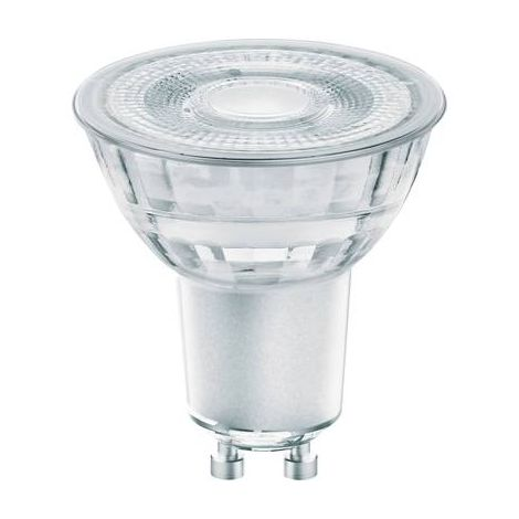 LEDVANCE LED EEC A+ (A++ - E) GU10 RÉFLECTEUR 4.6 W = 50 W BLANC CHAUD (Ø X L) 50 MM X 54 MM GLOWDIM, À INTENSITÉ VARIABLE 1 PC(