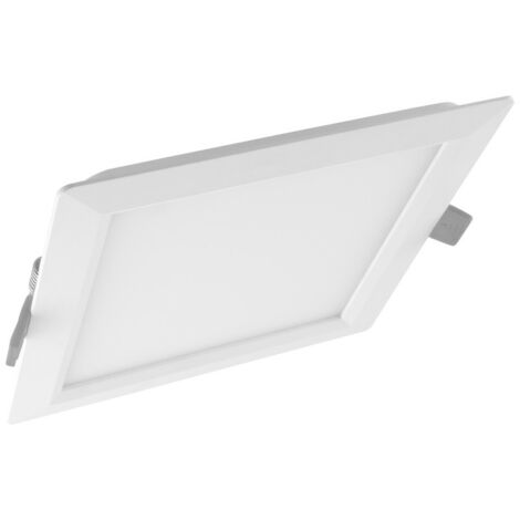 Ledvance Slim 18W LED Downlight Square Polycarbonate IP20 Daylight - DLSLM210S65-079373