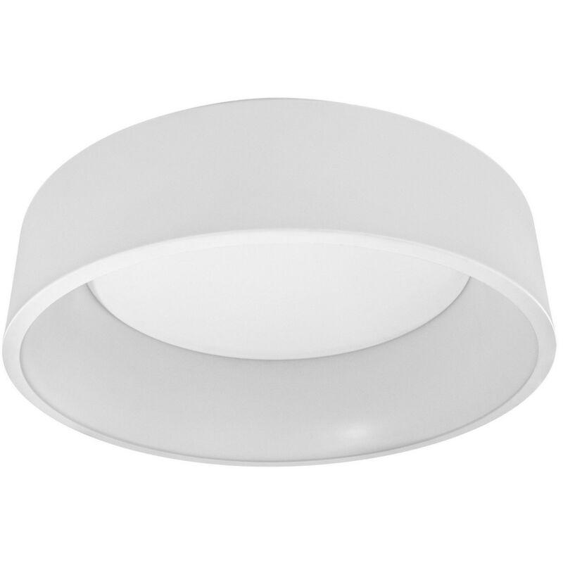 LEDVANCE SMART+ LED CYLINDER ROUND Wand- und Deckenleuchte Tunable White WiFi Ø 45 cm Kunststoff Wei, 486560