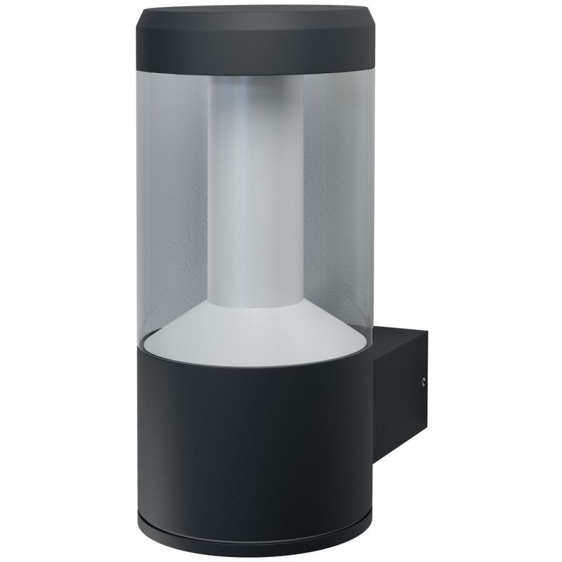 SMART+ LED MODERN LANTERN Wandleuchte RGBW Bluetooth 24 cm Aluminium Dunkelgrau, 184572 - Ledvance