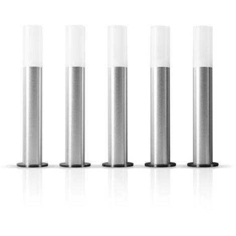 LEDVANCE SMART+ ZB GARDENPOLE Basic Set EU, LED-Leuchte, grau, kompatibel mit ZigBee, 5 Poles, 3,8