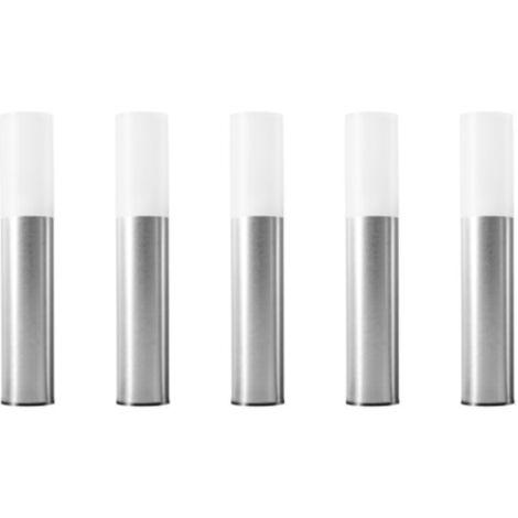 LEDVANCE SMART+ ZB GARDENPOLE Basic Set EU Mini, LED-Leuchte, grau, kompatibel mit ZigBee, 5 Poles