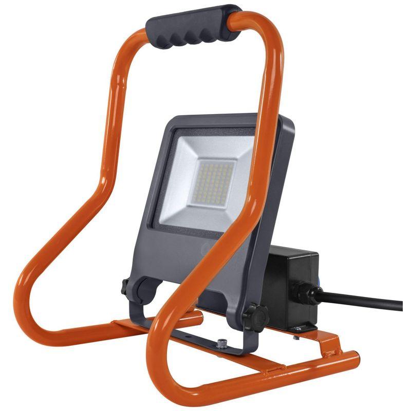 WORKLIGHT SOCKET 50 W LED Mobiler Strahler Kaltweiß 37,5 cm Kunststoff Dunkelgrau, 321342 - Ledvance