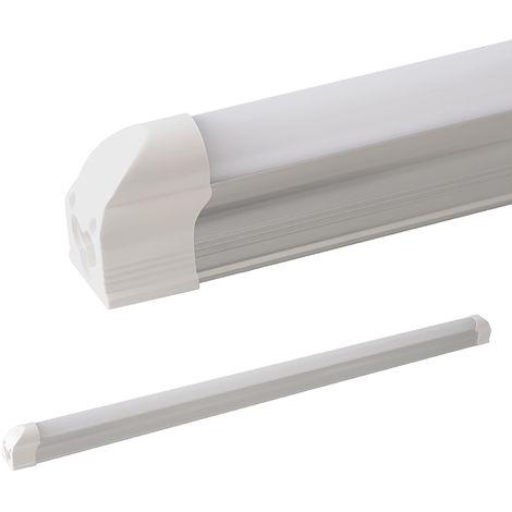 LEDVero T5 LED tubo integrado mate - blanco cálido 150 cm - Tubos integrados