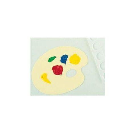 Lefranc Bourgeois - 807074 - Loisir Creatif - Palette Plastique Education - Ovale