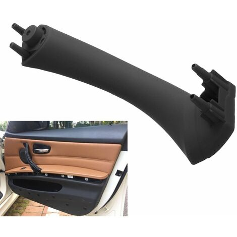 Left + Right Side Interior Door Panel Handle Pull Trim Cover For BMW E90 3 Series