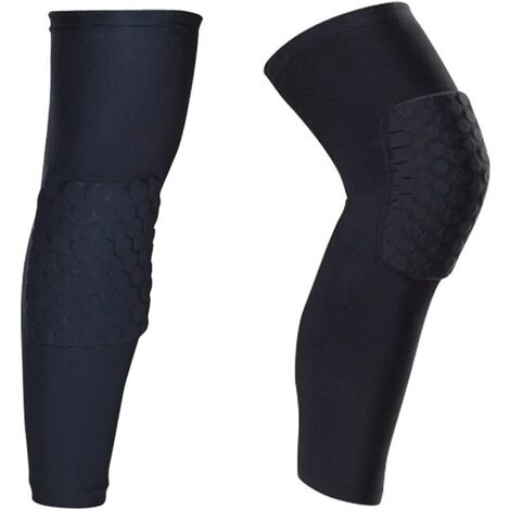 """main image of """"Leg Protector Knee Pads Leg Sleeves Knee Braces 2 Packs Non-slip Sports Volleyball Basketball Compression M"""""""