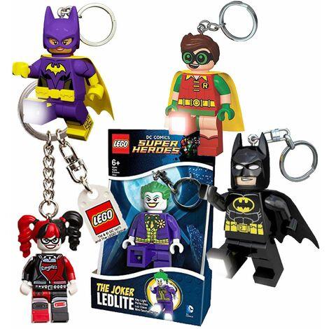 LEGO Batman LED LITE Schlüsselanhänger mit Taschenlampe Batman Kimono