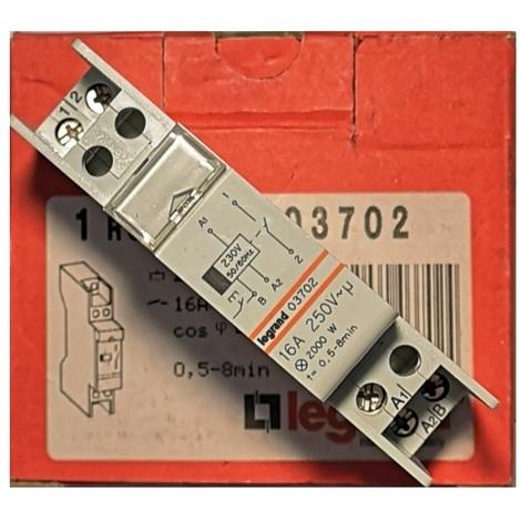 Legrand 003702 Minuterie d'escalier 16A 250V 0.5-8min - Rex 800