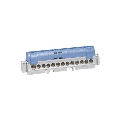 Legrand 004844 - Terminal block IP 2X L.113mm - neutral - 1 connection 6