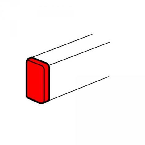 Legrand 010707 - Embout gauche ou droit - DLP mono 65x195 - blanc