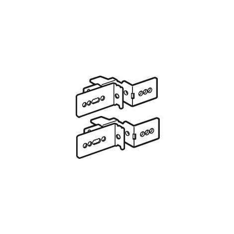Legrand 020470 - 2 x Supports fixation de goulotte Lina 25 - XL3 800/XL3 4000 - 36 mod