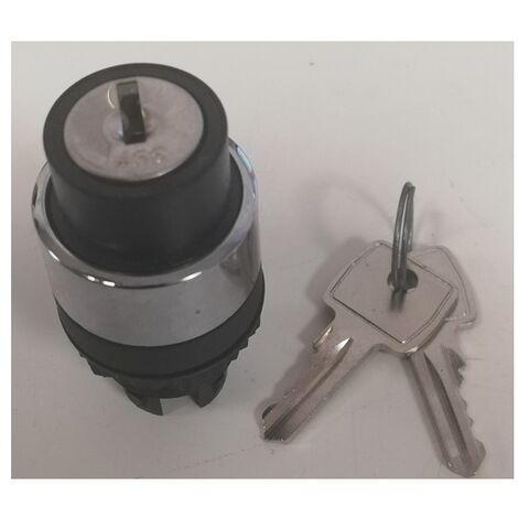 Legrand 024572 Tête serrure à clé n°455 2 positions ext0 Signis