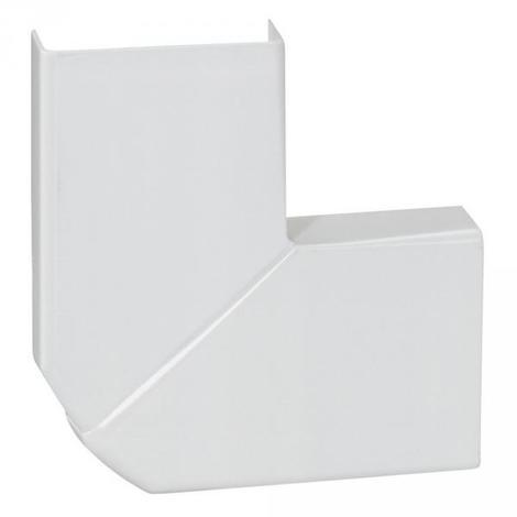 Legrand 030253 - Angle plat variable - pour moulure DLPlus 32x12,5 - blanc