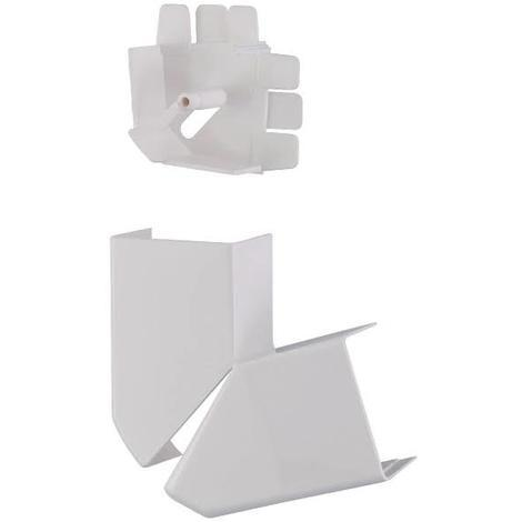 Legrand 030273 - Angle plat variable - pour moulure DLPlus 32x20 - blanc