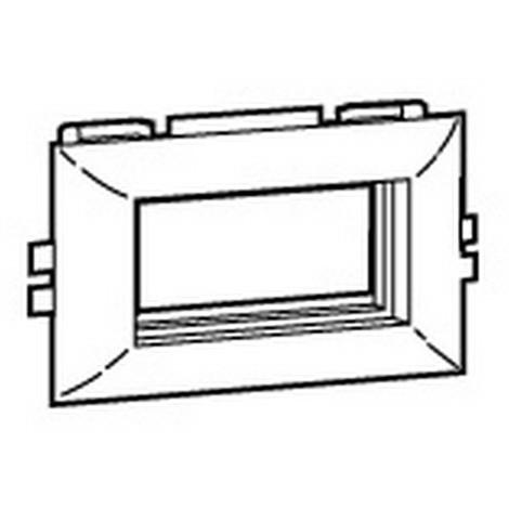 LEGRAND 030397 - MOSAIC 45 SUPP.PLAST.4M COUV.L75