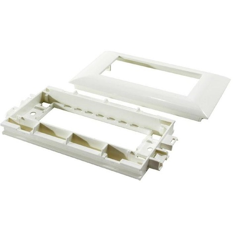 Legrand 030545 - Mosaic - Cadre goulotte DLP 6 modules - H.55mm