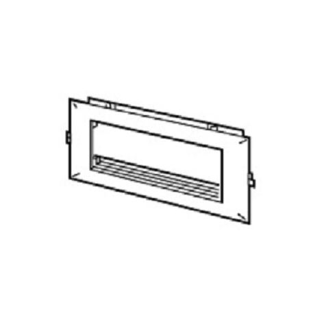 Legrand 030547 - Mosaico DLP - Frame de 75mm (6 am). Para canaleta