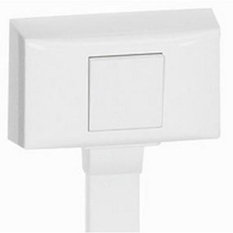 Legrand 031611 - Cadre Mosaic 2 mod - pour toutes moulures et plinthe h.20 DLPlus - blanc