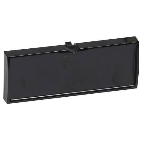 Legrand 033591 - Bloc Obturateur - pour panneau de brassage 19'' - noir - LCS²