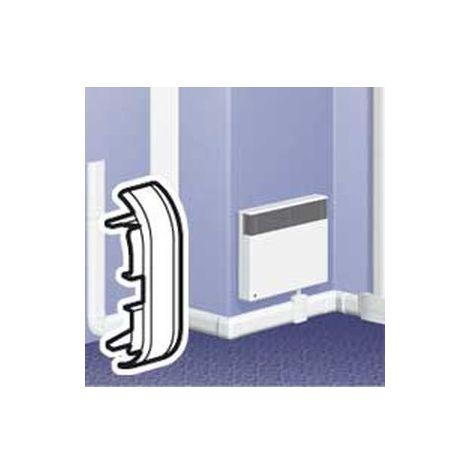 Legrand 033744 - End for plinth DLPlus 80x20 - white