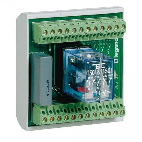 Legrand 036635 Centralization and fault reporting module - 9 IN 24/48V