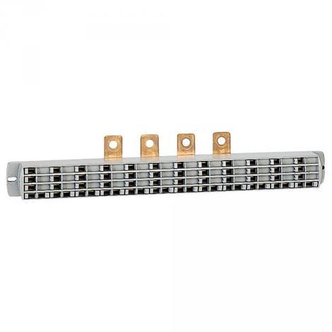 Legrand 037316 - Répartiteur de rangée Lexiclic - 3P + 2N - avec cordon Connecteur Ø6mm²
