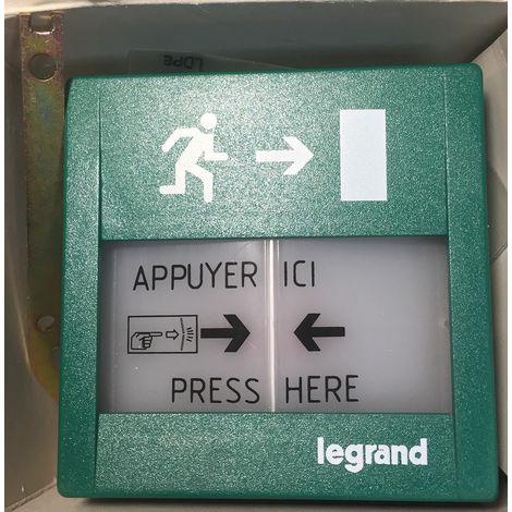 Legrand 038015 Manual Trigger Green - 250V 5A