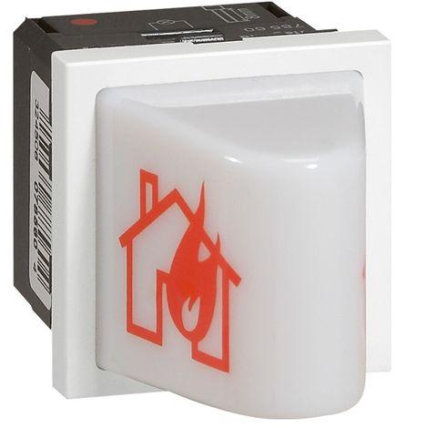 Legrand 040595 difusor prog brillante mosaico de alarma de incendios - montaje - 2 m