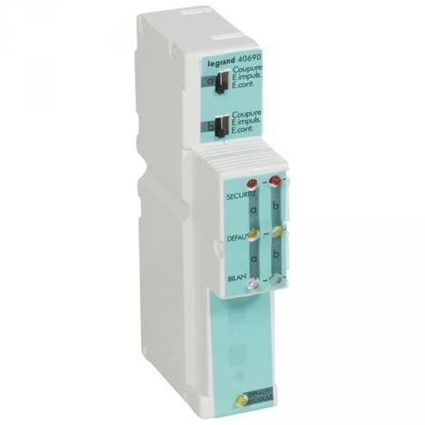 Legrand 040690 2-line module secured