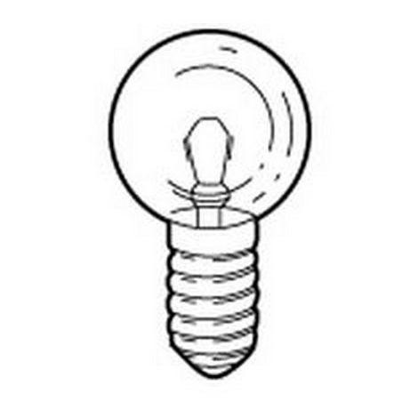 Legrand 060920 bulb base E10 - 6 V - 0,45 A - 2,7 W