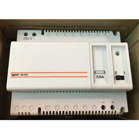 Legrand 06510 - Power Supply for Alarm technical