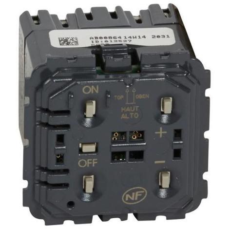 Legrand 067083 - Ecovariateur toutes charges 2 fils - Programme Céliane (utilisable avec LEDs)