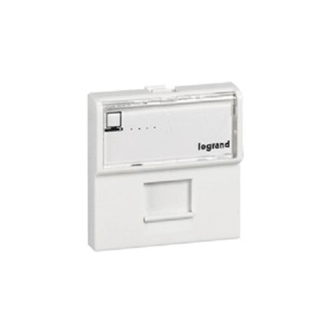 Legrand 074344 Socket RJ45 cat.4 Mosaic RNIS/ISDN - 8 contacts - 2 Modules