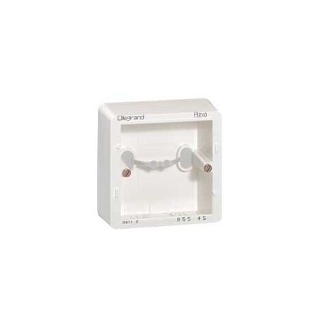 Legrand 085545 Cadre saillie sagane opalis 1P