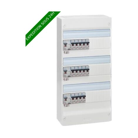 Legrand 093067 Essentiel Spécial Tableau Électrique Équipé pour Logement T4