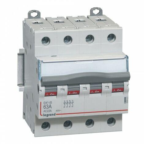 """main image of """"Legrand 406481 Interrupteur sectionneur de tête 4P 400V 63A 4m"""""""