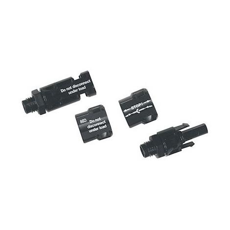 Legrand 414093 Kit de Connecteurs 4/6MM2 embases type MC4 pour montage sur parois coffrets