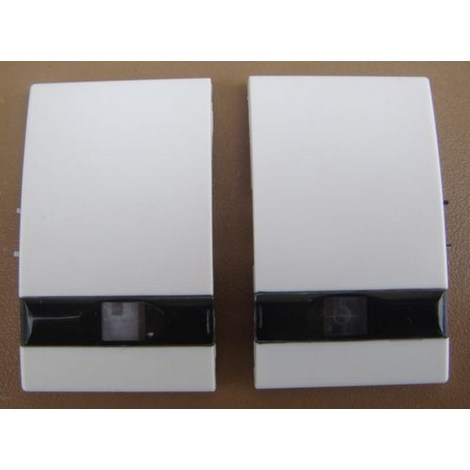 LEGRAND 85606 - SAGANE OPALIS (Blanc) Double Doigt Interrupteur