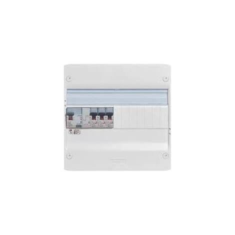 """main image of """"Legrand 93061 Essentiel Spécial Tableau Électrique Équipé pour Extension, Blanc"""""""
