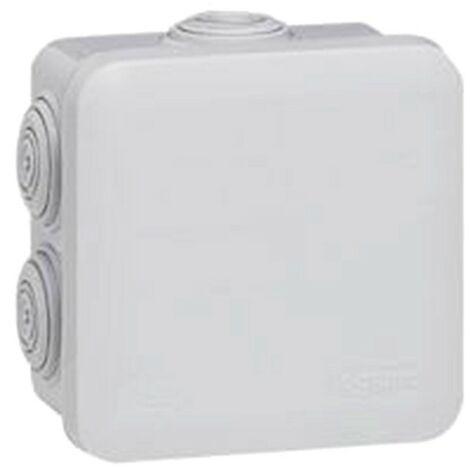 Legrand 94503 boîte de dérivation carrée plexo - gris - 65 x 65 mm