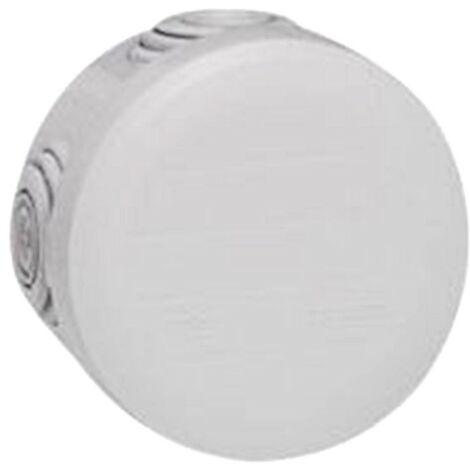 Legrand 94504 boîte de dérivation ronde plexo - gris diamètre 60
