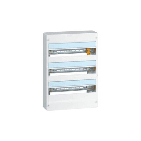 LEGRAND Drivia Tableau électrique nu 3 rangées 18 modules - 401223