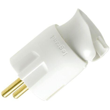 Legrand - fiche avec orientation du câble 16A