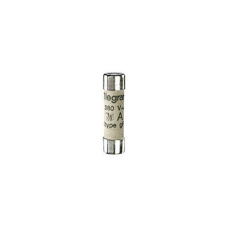 Legrand - Juego de 10 cartuchos cilíndricos de tipo industrial GG 10A sin ver
